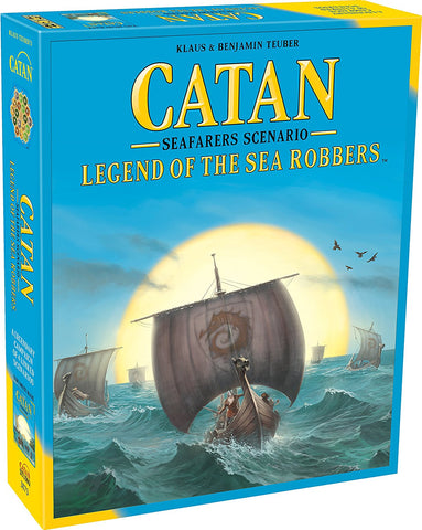 Catan Legends of the Sea Robbers Seafarers Scenario