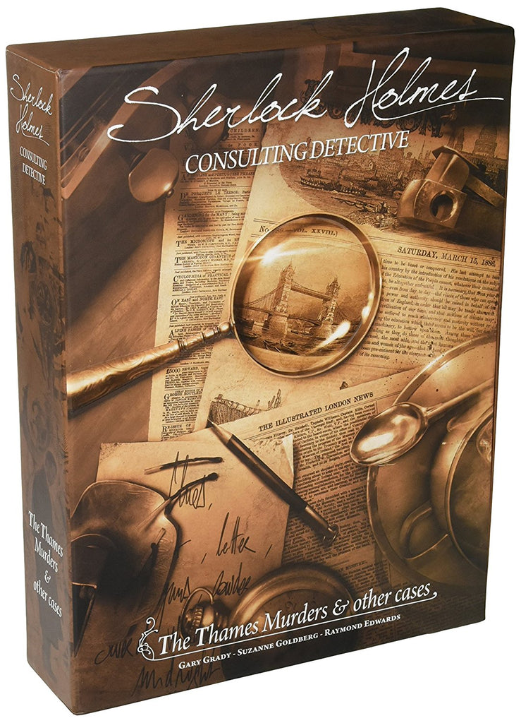 Sherlock Holmes Consulting Detective - 1 - Thames Murders And Other Cases Standalone Game