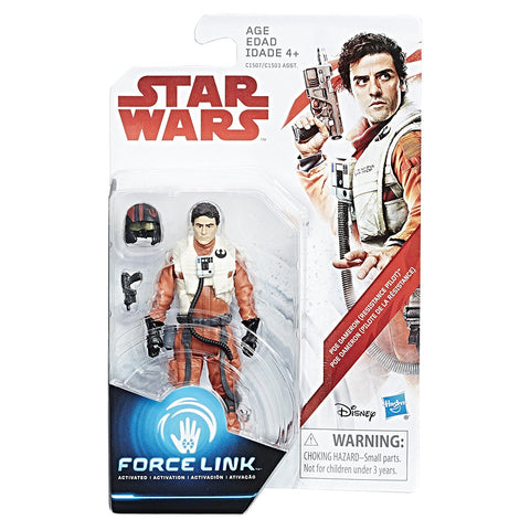 Poe Dameron (Resistance Pilot) Star Wars Force Link 3.75""