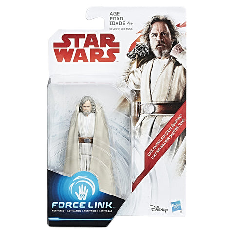 Luke Skywalker (Jedi Master) Star Wars Force Link 3.75""