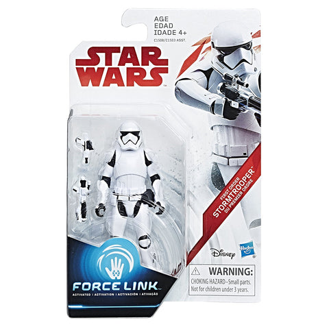 First Order Stormtrooper Star Wars Force Link 3.75""