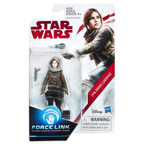 Jyn Erso (Jedha) Star Wars Force Link 3.75""