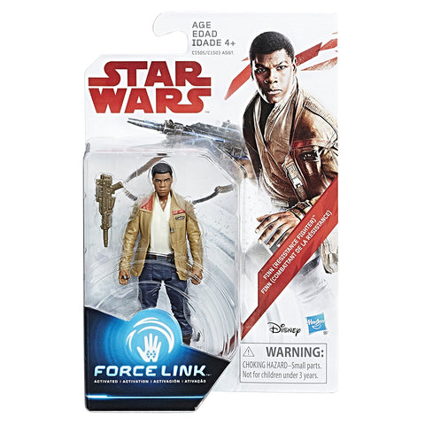 Finn (Resistance Fighter) Star Wars Force Link 3.75""