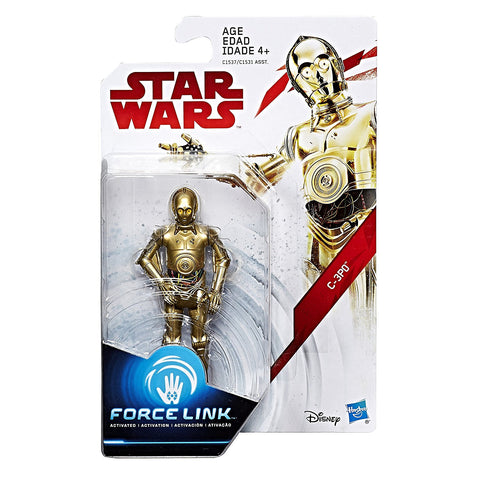 C-3PO Star Wars Force Link 3.75""