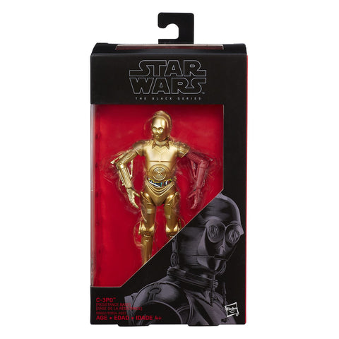 #29 C-3PO Resistance Base Star Wars Black Series 6""