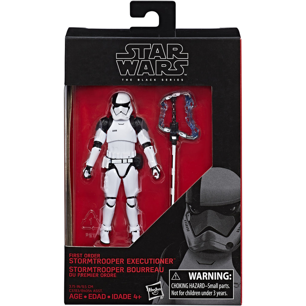 First Order Stormtrooper Executioner Star Wars Black Series 3.75