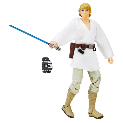 #21 Luke Skywalker A New Hope Black Series Loose 6""
