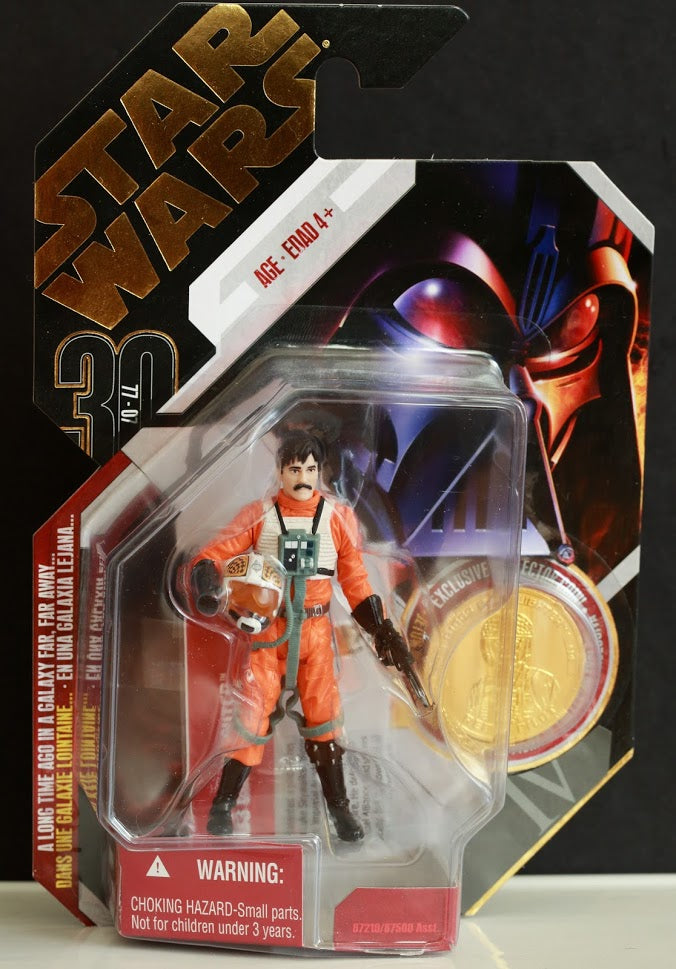 #14 Biggs Darklighter Star Wars 30th Anniversary 3.75""