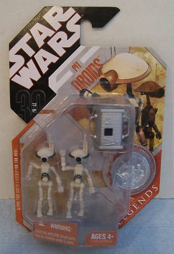 Pit Droids 30th Anniversary 3.75""