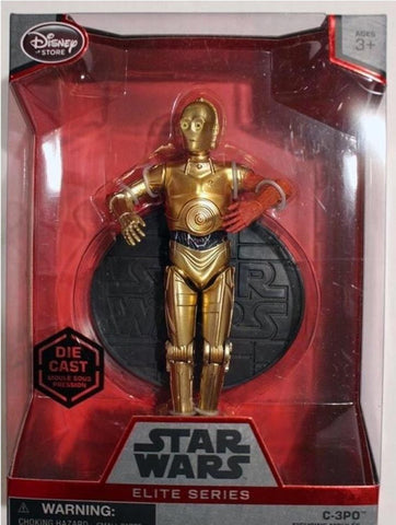 C-3PO Elite Series Die Cast Action Figure - 6 1/2''