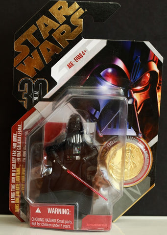 #16 Darth Vader Star Wars 30th Anniversary 3.75""