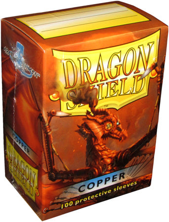 Dragon Shield - 100ct Standard Size - Copper