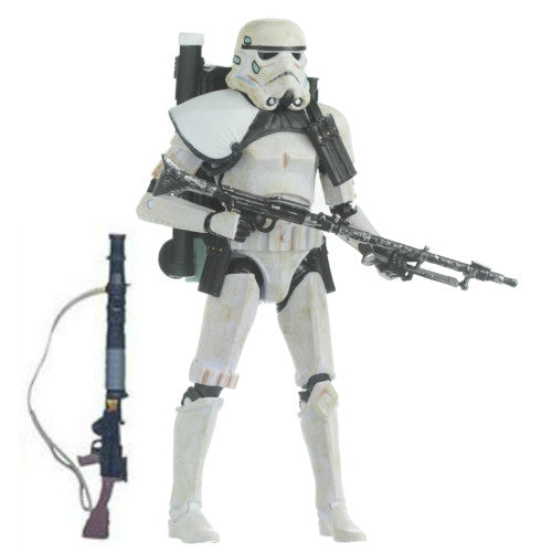"Star Wars Sandtrooper Sergeant Black Series 6"" Loose"