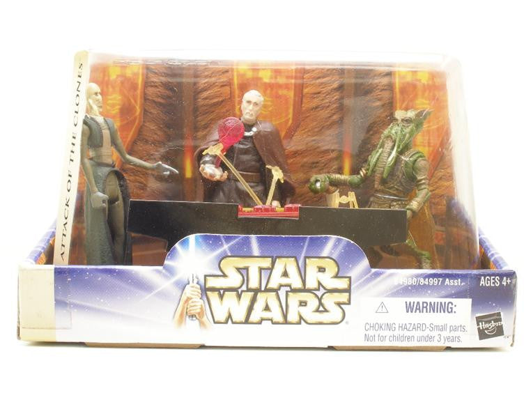 Geonosian War Chamber Poggle the Lesser Count Dooku San Hill (1 of 2)