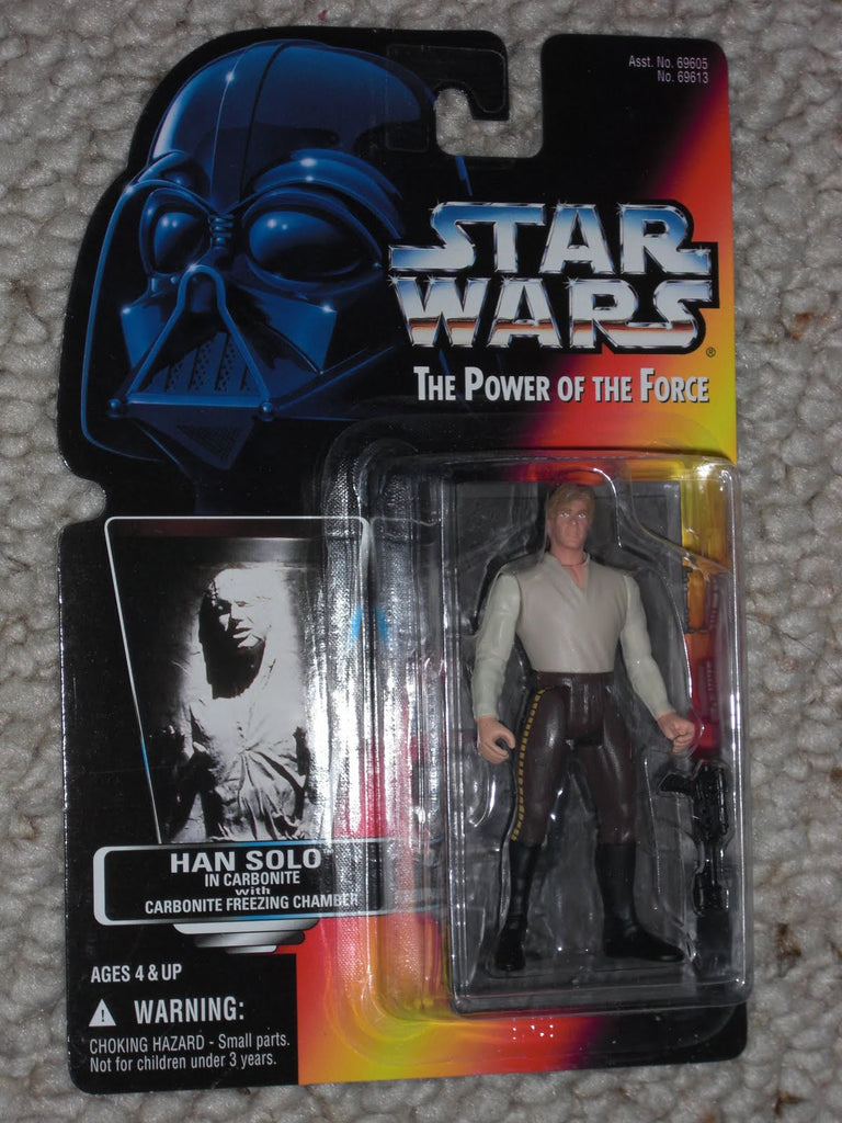 Han Solo Carbonite POTF2 NEW 3.75""