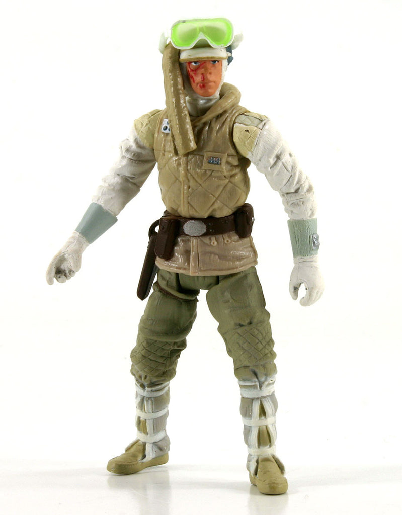 "Luke Skywalker Hoth Attack Star Wars 3.75"" Loose (incomplete)"