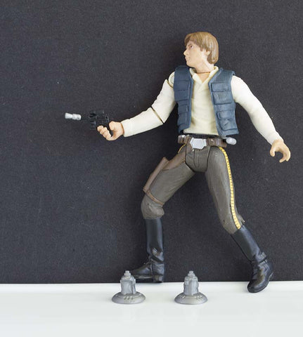Han Solo Endor Raid Star Wars Saga Loose