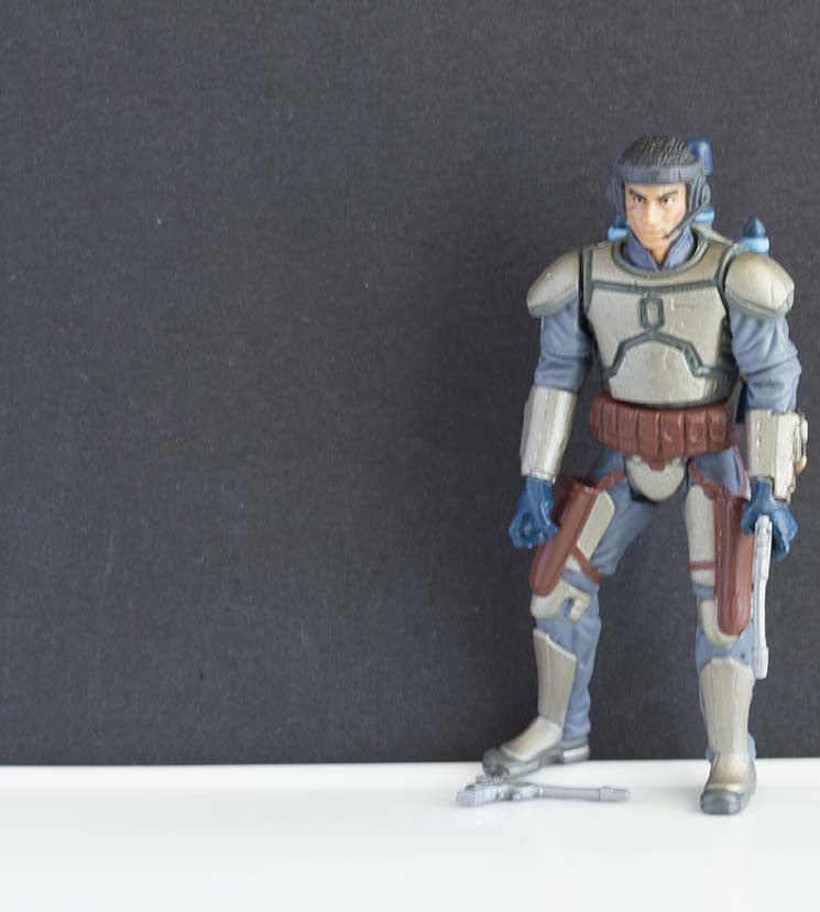 Jango Fett Star Wars Saga Loose