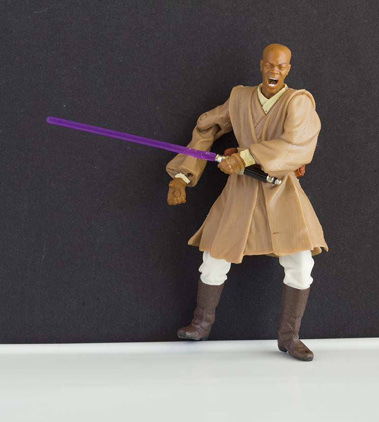 Mace Windu Geonosian Rescue Star Wars Saga Loose