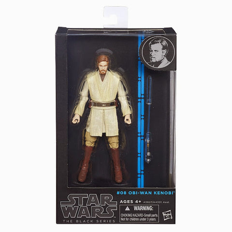 #08 Obi-Wan Kenobi Star Wars Black Series 6""