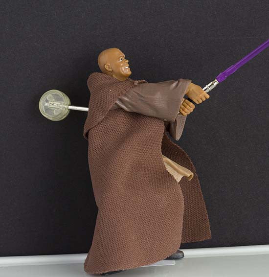 Mace Windu Arena Confrontation Star Wars Saga Loose