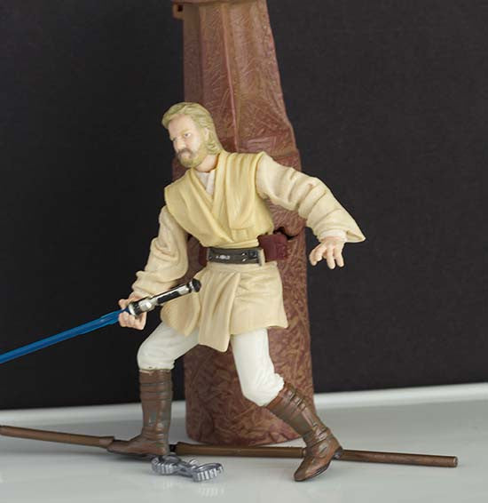 Obi-Wan Kenobi  Acklay Battle Star Wars Saga Loose