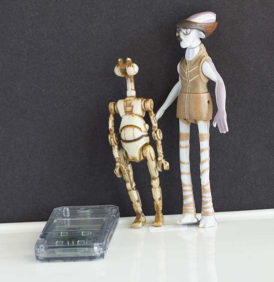 Ody Mandrell w/Otoga 222 Pit Droid Episode 1 Loose