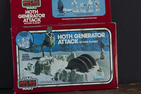 Vintage Star Wars Micro Collection Hoth Generator Attack Playset (NEVER OPENED)