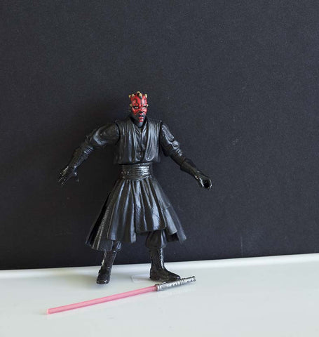 Darth Maul Final Duel Break Apart Power of the Jedi Loose