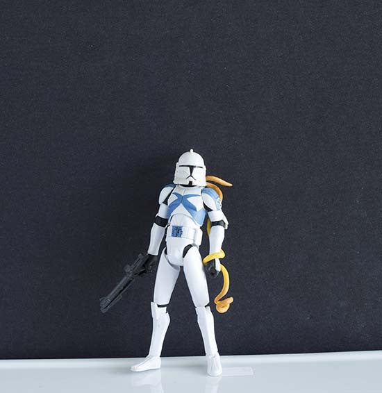 Scythe Clone Trooper The Clone Wars Collection 3.75""