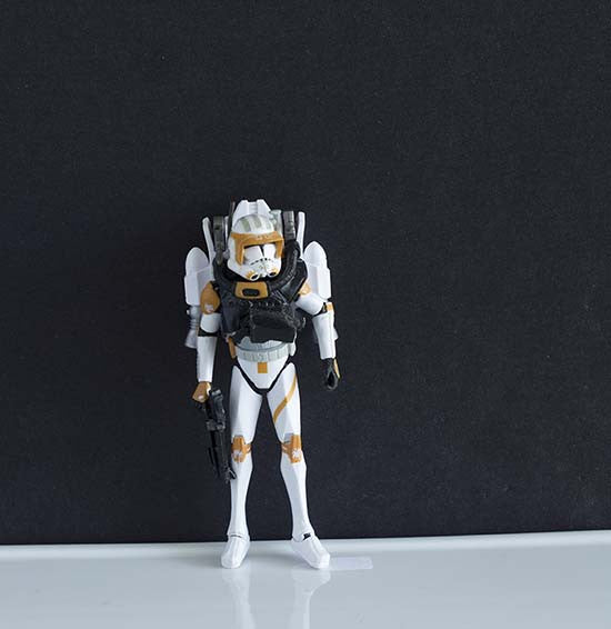 "Commander Cody with Propulsion Pack The Clone Wars Collection 3.75"" Loose"