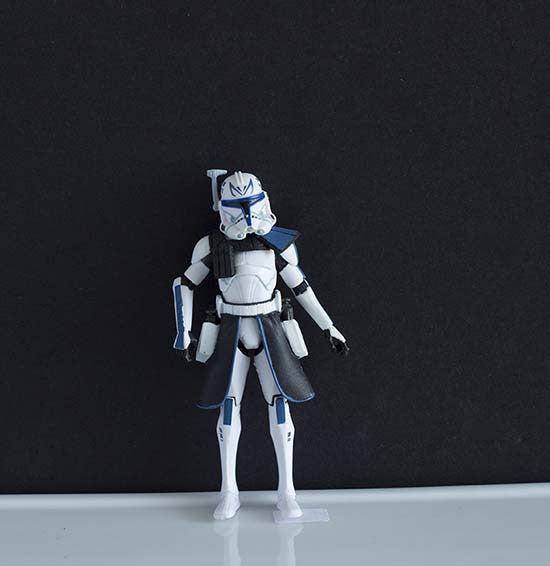 "Commander Rex Clone Trooper The Clone Wars Collection 3.75"" (incomplete)"