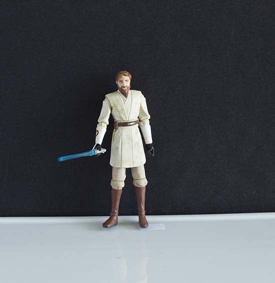 Obi Wan Kenobi The Clone Wars Collection 3.75""