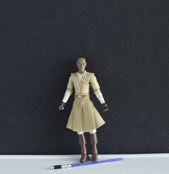 Mace Windu The Clone Wars Collection 3.75""