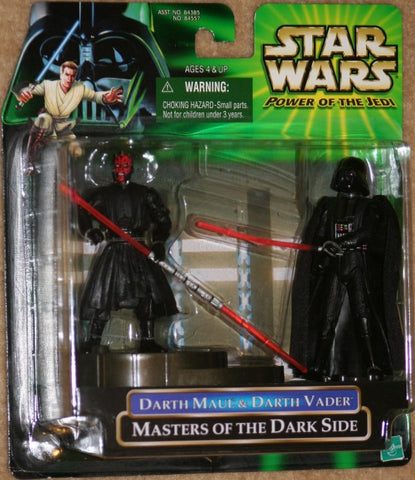 Darth Maul Darth Vader Masters of the Dark Side Power of the Jedi