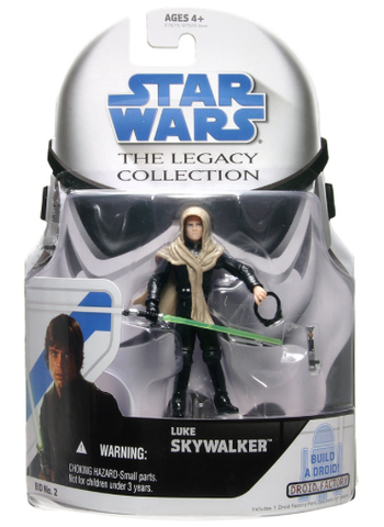 BD02 Luke Skywalker (Sandstorm) The Legacy Collection 3.75""