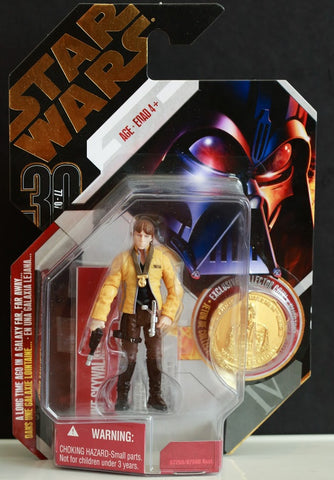 #12 Luke Skywalker Yavin Ceremony Star Wars 30th Anniversary 3.75""
