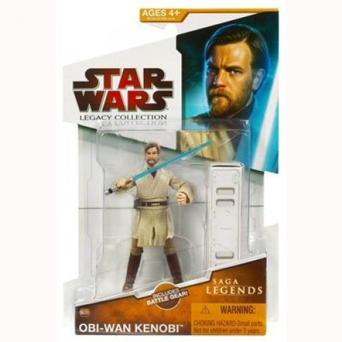 SL03 Obi-Wan Kenobi Star Wars Legacy Collection 3.75""