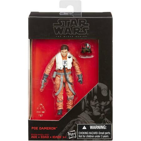 Poe Dameron Star Wars Black Series 3.75""