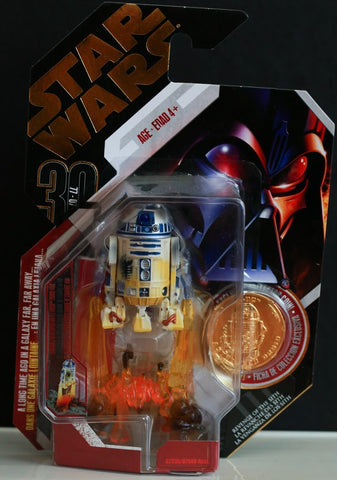 #04 R2-D2 Star Wars 30th Anniversary 3.75""