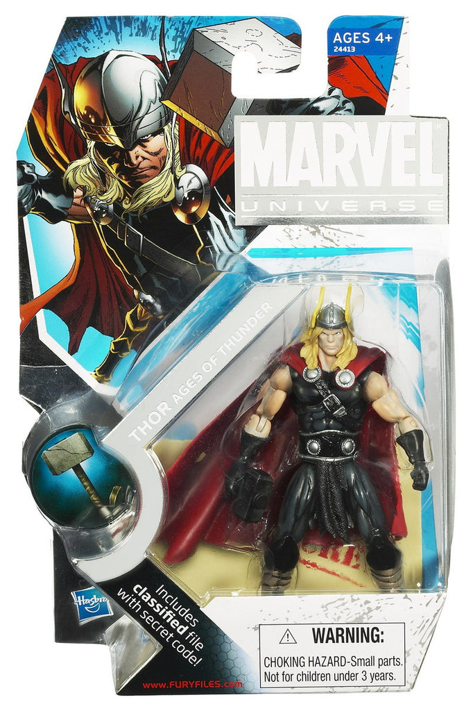 Thor Ages of Thunder SDCC 2010 Marvel Universe 3.75""