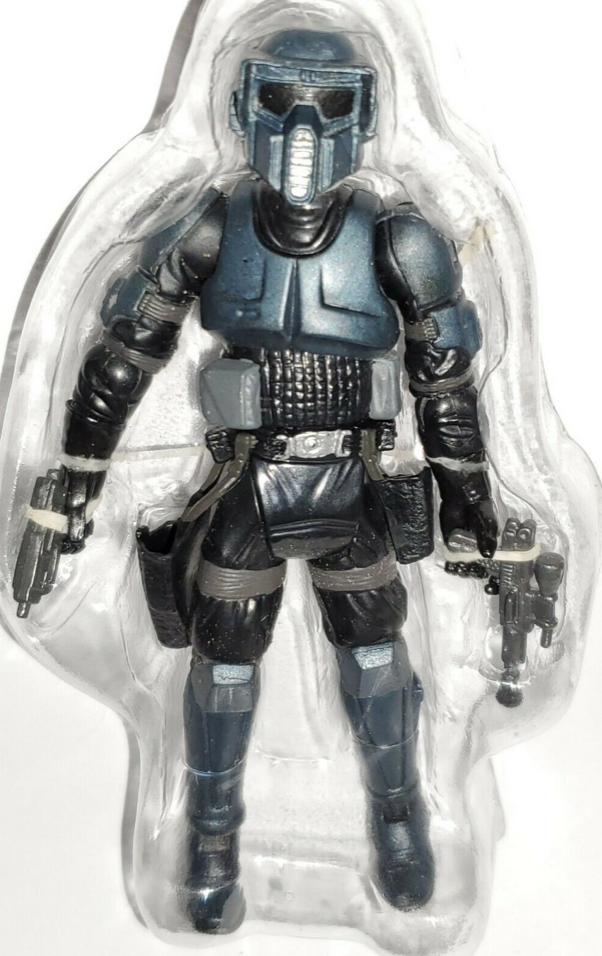 "Star Wars Storm Commando Figure Shadow Scout Evolutions Imperial Special Forces 3.75"" Loose"