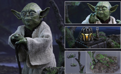 Hot Toys Yoda 1/6 Scale (opened)
