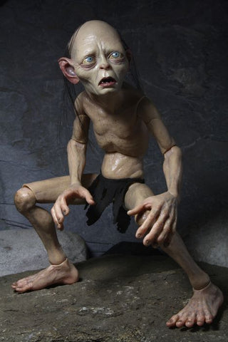 NECA Smeagol 1/4 Scale Action Figure Loose