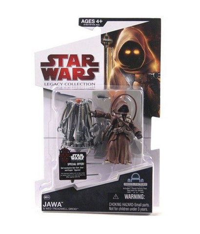 BD04 Legacy Collection Jawa with WED Treadwell Droid