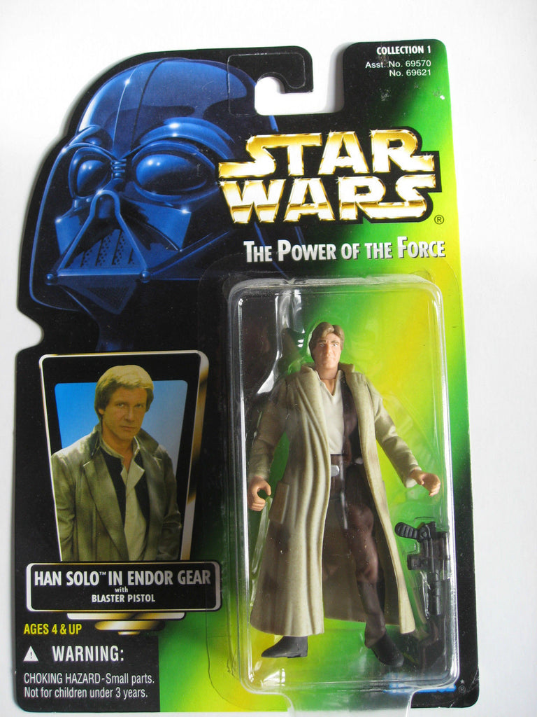 Han Solo in Endor Gear POTF2