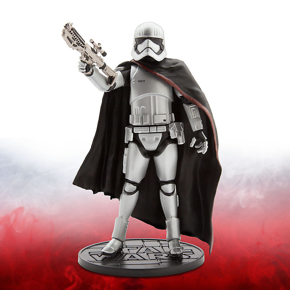 "Elite Series Captain Phasma Die Cast 7"" LOOSE (NM) (no stand)"