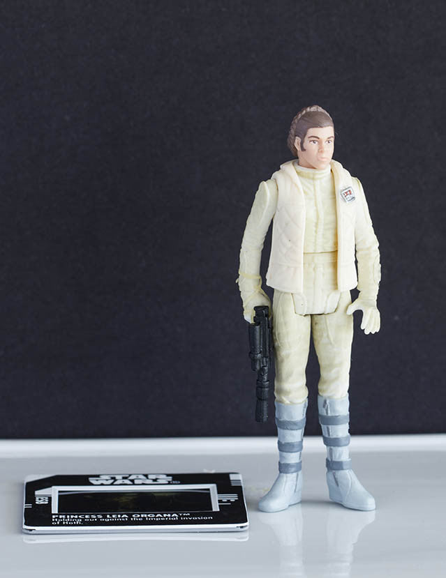 Princess Leia Hoth Gear Freeze Frame POTF2 Loose