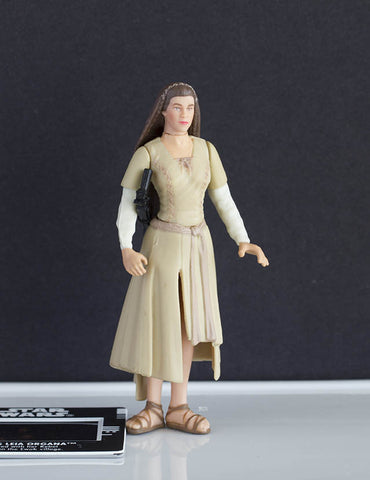 Princess Leia Endor Freeze Frame POTF2 Loose