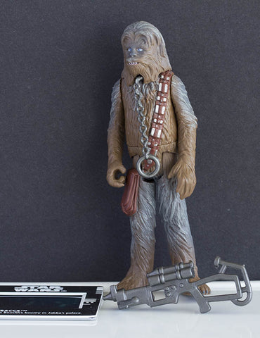 "Chewbacca as Boushh's Bounty Star Wars POTF2 3.75"" Loose"
